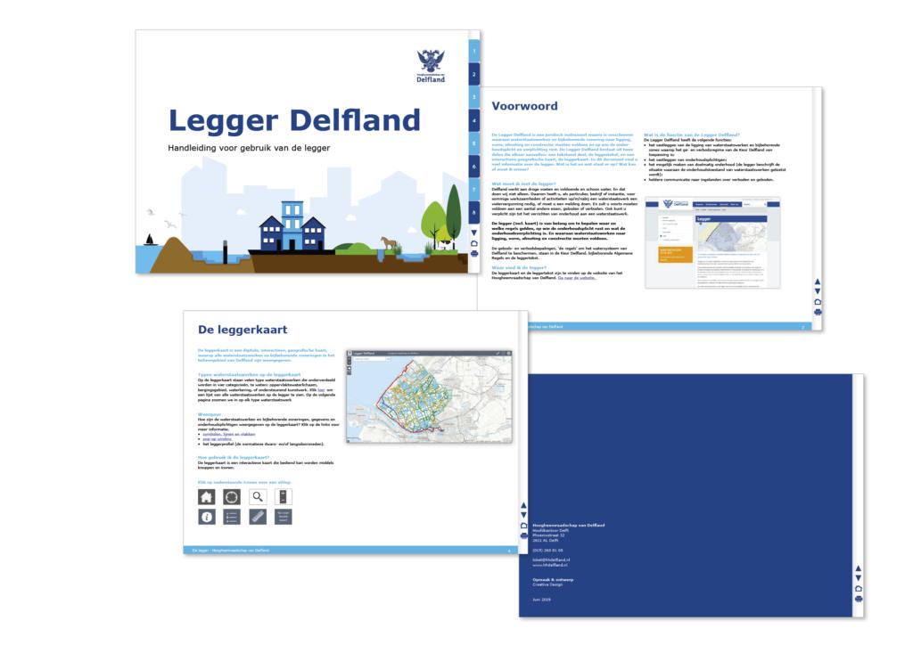 Uitleg over de Legger voor Hoogheemraadschap Delfland