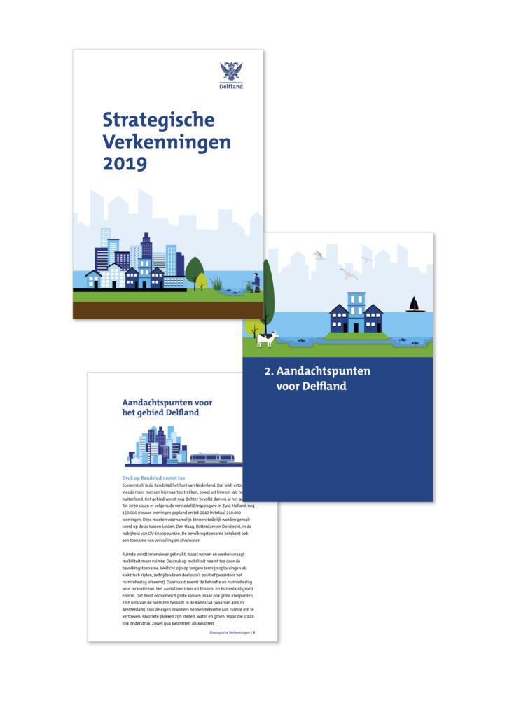 Brochure voor Hoogheemraadschap van Delfland